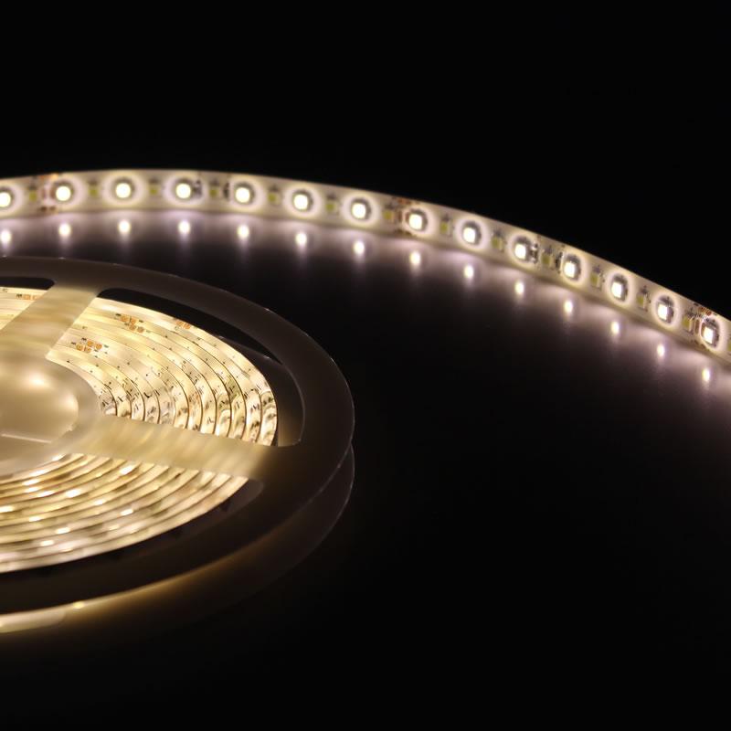 Bande LED Dual Blanc SMD5050, DC24V, 5m (60 Led/m) - IP65