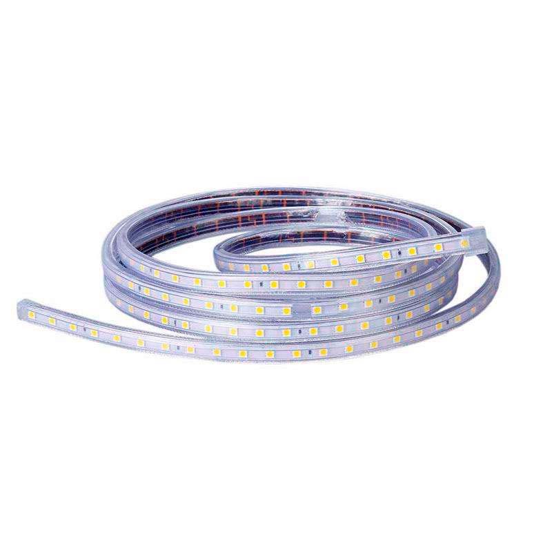 Tira LED 220V SMD5050, 60Led/m, 1 metro, Rojo