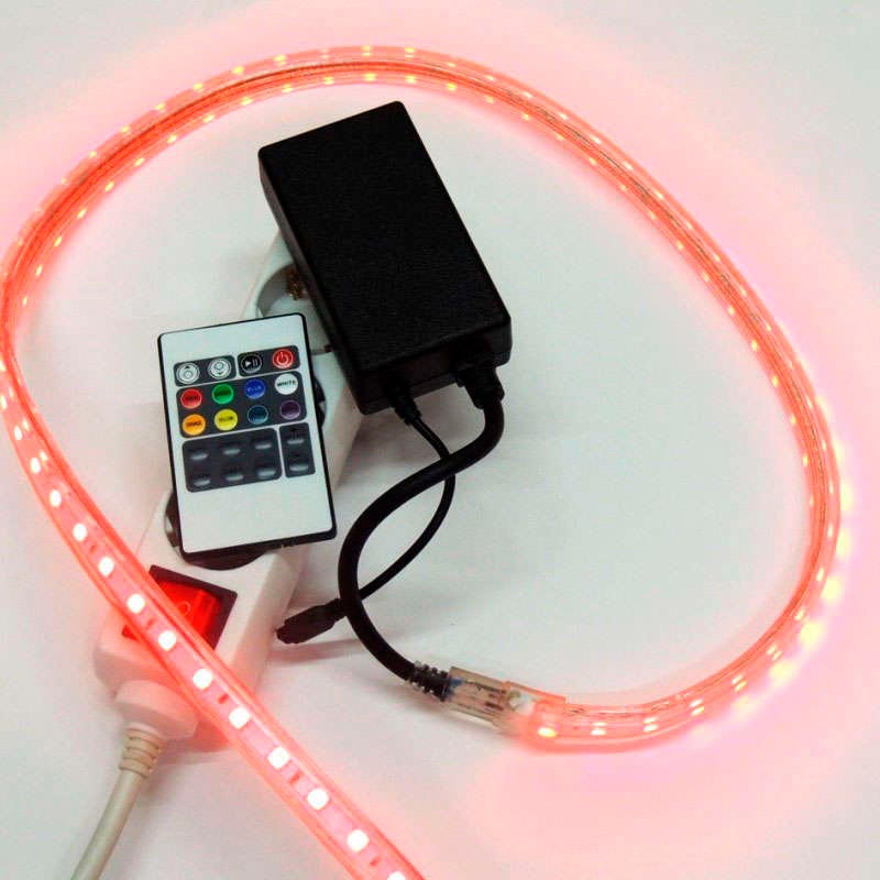 220V led strip RGB controller IR 750W