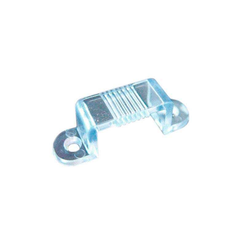 Grapa de fijación para tira led 220V - 10mm