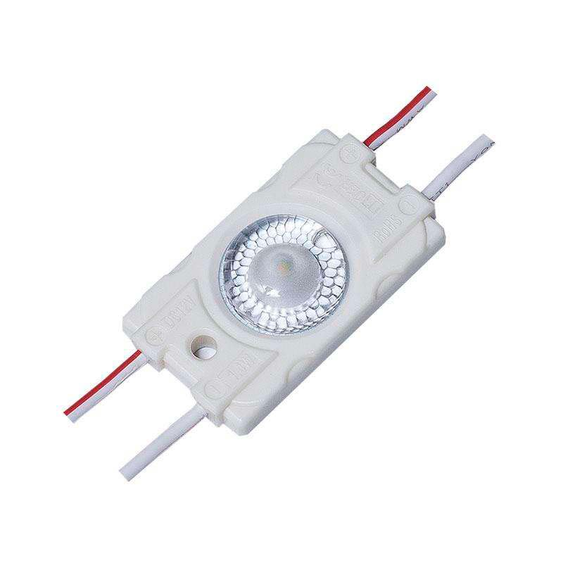 Módulo Led ABS, 1xSMD3030, 1,4W, Blanco frío