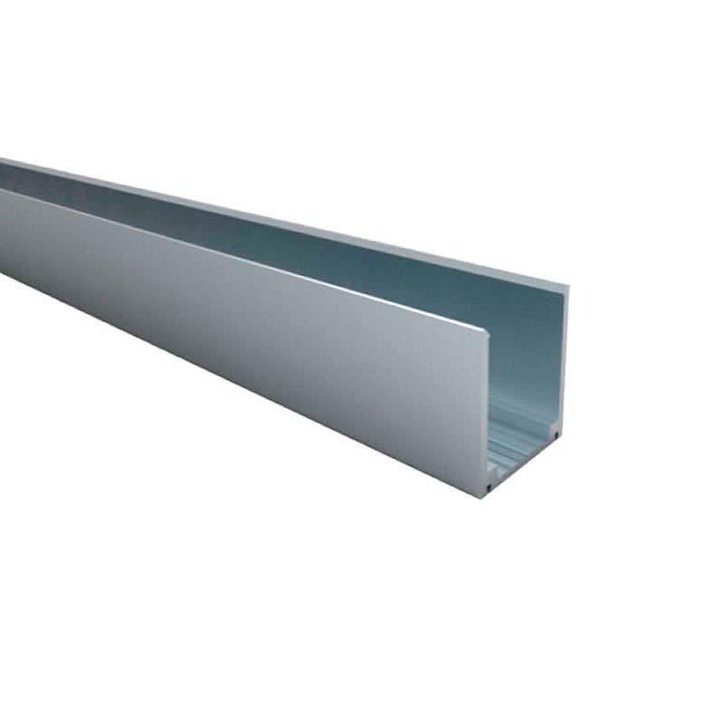 Carril aluminio Led NEON 1m, 14x26mm