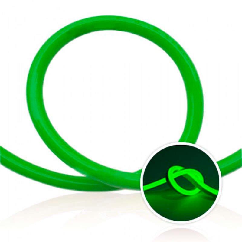 Led NEON Flex, 220V, 100Led/m, 1m, verde