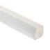 Carril PVC blanco para Led NEON 15,4x17mm, 1m