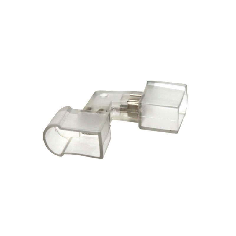 Conector exterior L para LED Neon