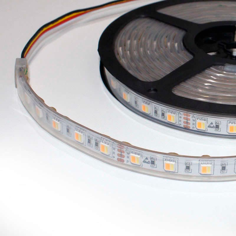 Tira LED FOOD Tricolor SMD5050, DC24V, 5m (60 Led/m) - IP67