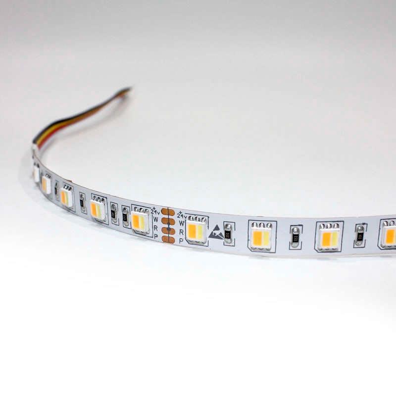 Tira LED FOOD Tricolor SMD5050, DC24V, 5m (60 Led/m) - IP20
