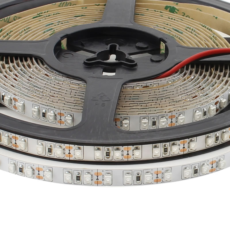 Tira LED UV Ultravioleta SMD3528, DC12V, 5m (120 Led/m) - IP20