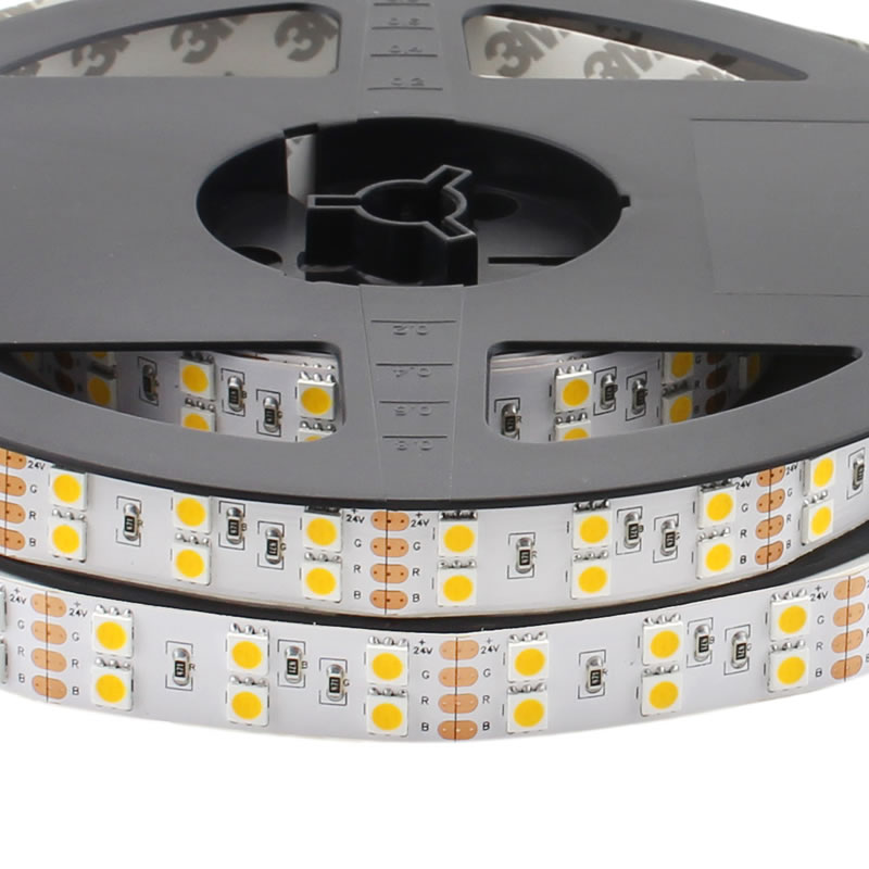 Tira LED EPISTAR SMD5050, DC24V, 5m (120 Led/m) - IP20