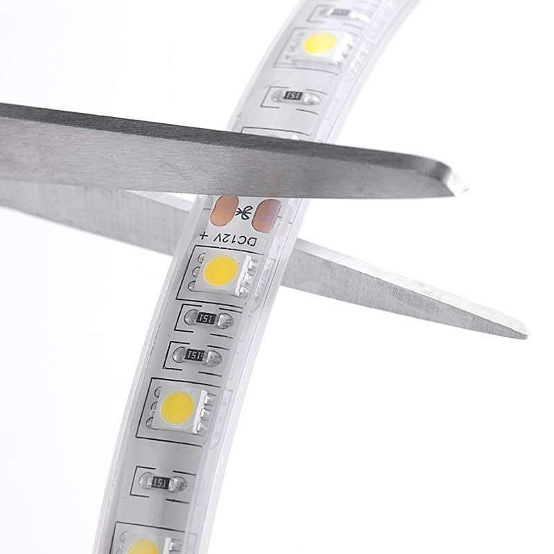 Tira LED EPISTAR SMD5050, DC24V CC, 5m (60 Led/m) - Sensor Temperatura - IP67
