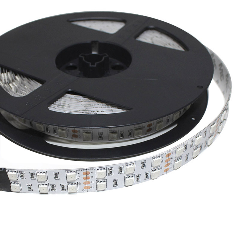 Tira LED EPISTAR SMD5050, RGB, DC24V, 5m (120 Led/m) - IP20