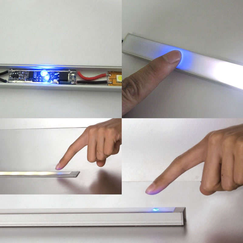Dimmer Blue Touch para tiras monocolor 50x12mm