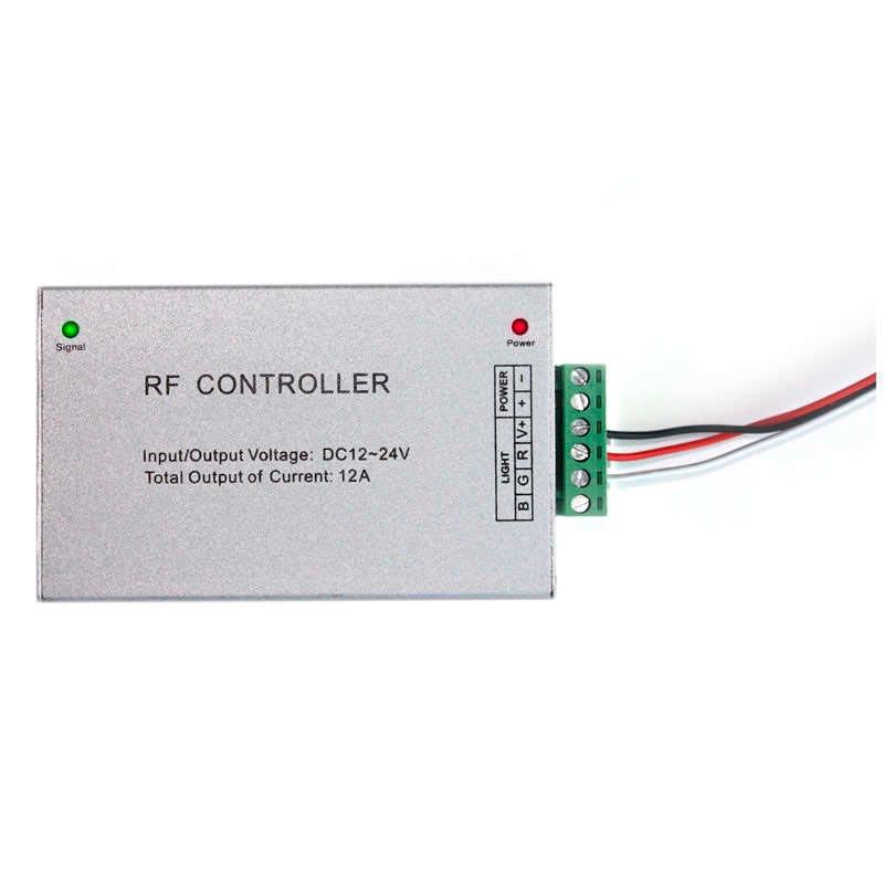 Controlador RF tira LED Blanco DUAL 17 modos + mando