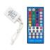 Controlador IR tira led RGBW 40 botones