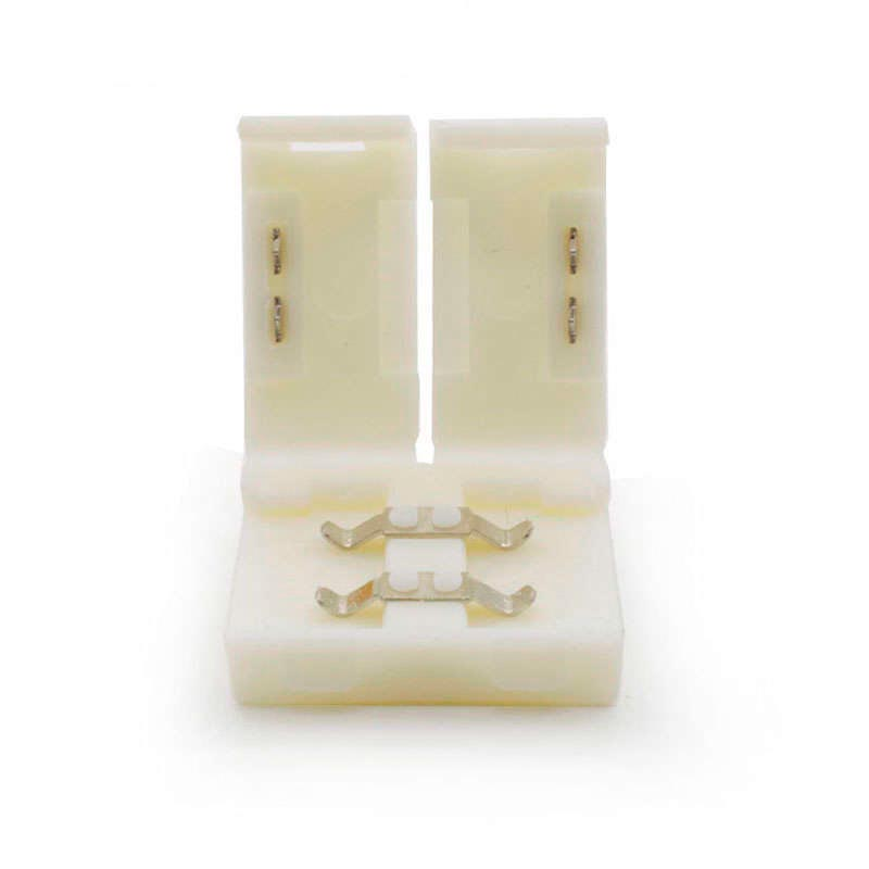 Unión / conector rígido CLICK para tiras LED monocolor, 10mm