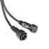 Cables conexión 2 Pinx0,5mm, 20cm, IP66, negro