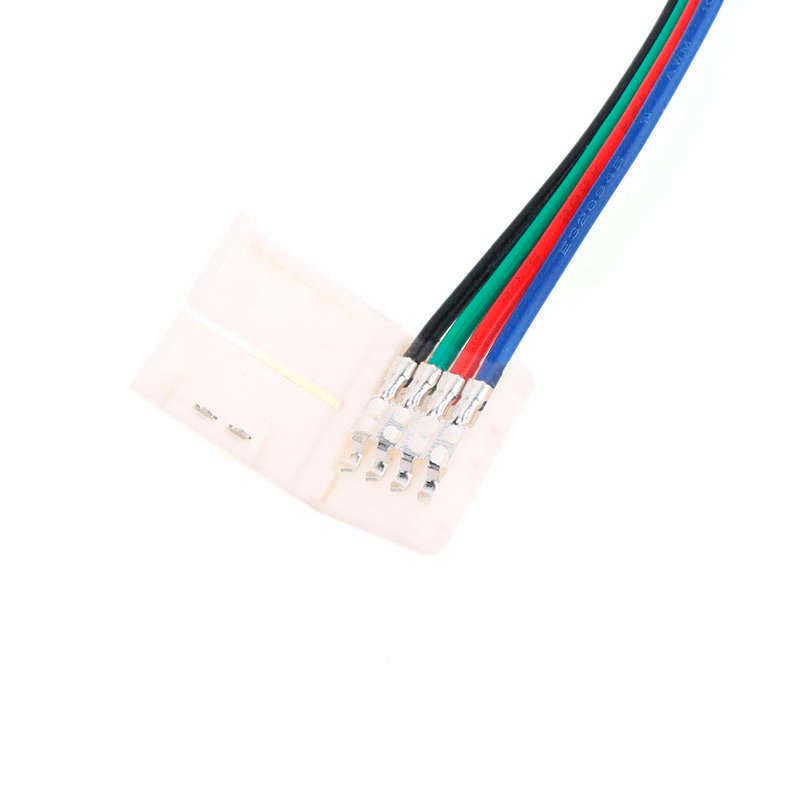 Cable de conexión directa para tira LED RGB (4 Pin) 10mm