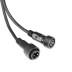 Cable conexión T, 4 Pinx0,5mm, 20cm, IP68, negro