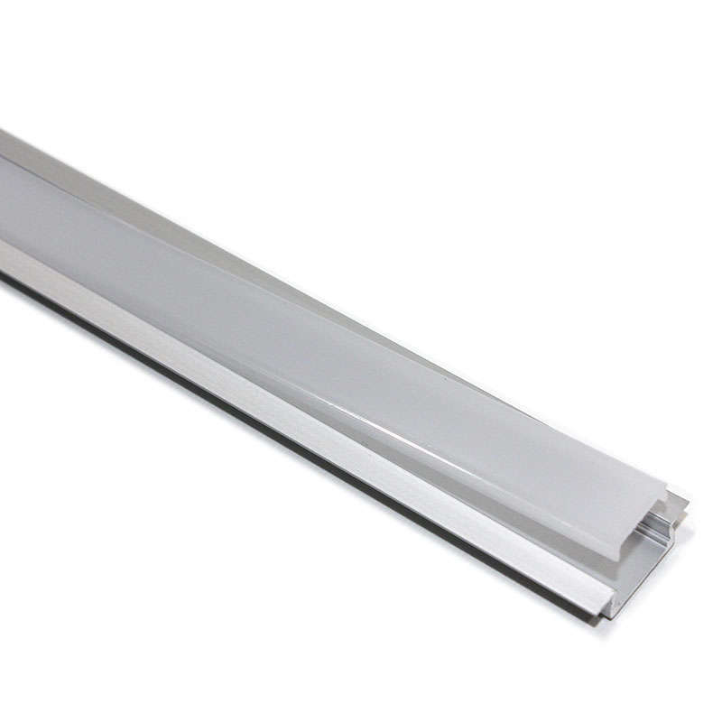 Perfil aluminio KOBE PRESS para tiras LED, 1 metro