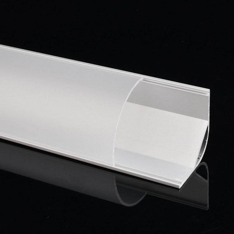 Perfil aluminio kork para tiras led 1 metro ledbox - Tiras de aluminio ...