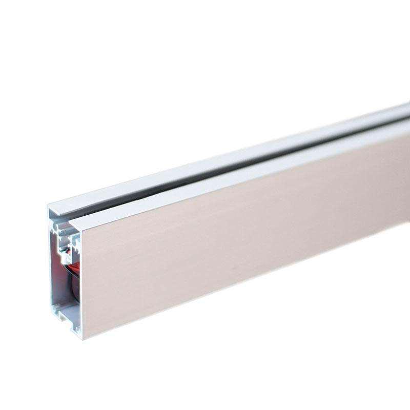 Perfil aluminio prolux para tiras led 120cm ledbox - Tiras de aluminio ...