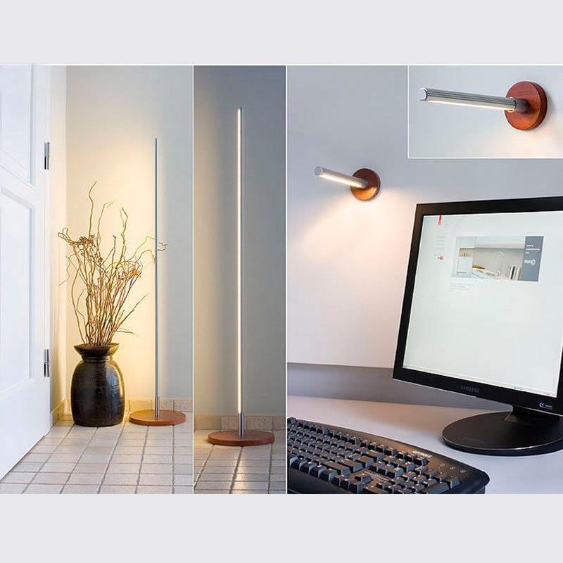 KIT - Perfil aluminio KROB para tiras LED, 1 metro