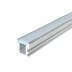 KIT - Perfil aluminio FOOT para tiras LED, 1 metro