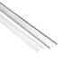 KIT - Perfil aluminio flexible FLEX para tiras LED, 1 metro