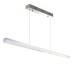 KIT - Perfil aluminio ALKAL SUSPEND 27mm para tiras LED, 1 metro