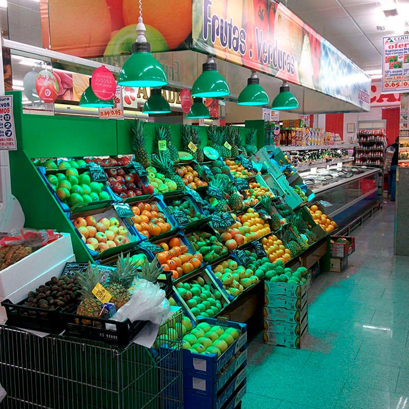 Campana E27, 20W, Vegetales