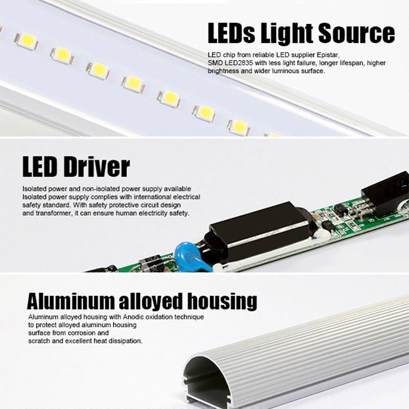 Tubo LED T8 SMD2835 Epistar - Aluminio - 25W - 150cm
