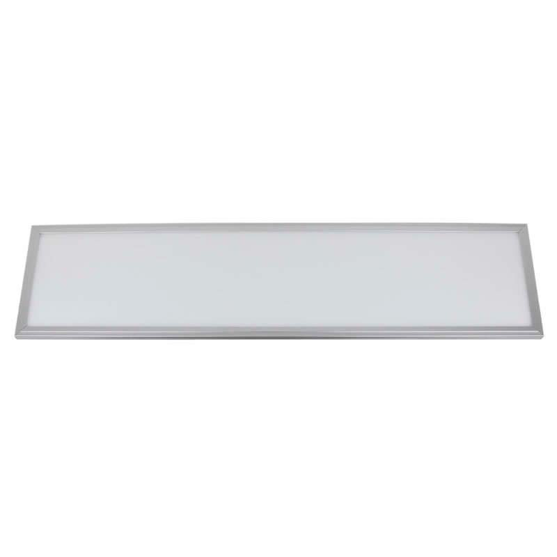 Panel 40W, Samsung ChipLed + TUV driver, 30x120cm, marco silver, Blanco neutro