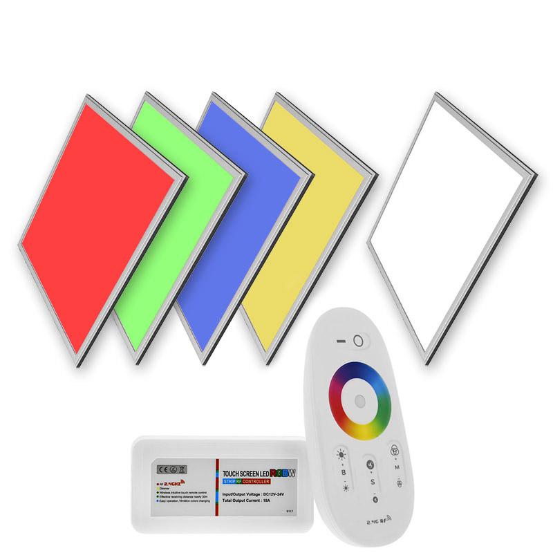 Panneau LED 40W, RGB, 30x120cm