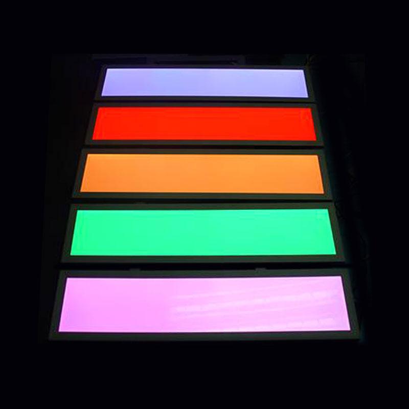 Panel LED 40W, RGB, RF, 30x120cm