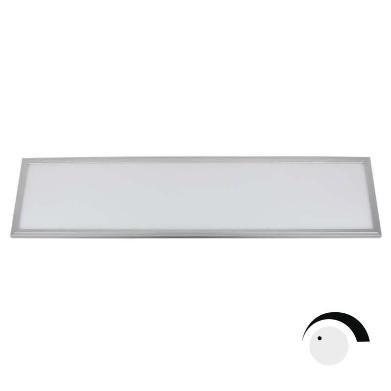 Ledbox Painel 40w Chipled Samsung + Lifud Driver 30x120cm Dali Regulavel Branco Quente