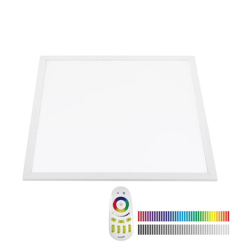 Ledbox Painel LED 48w Rgb+cw Rf 60x60cm RGB + Branco Frio