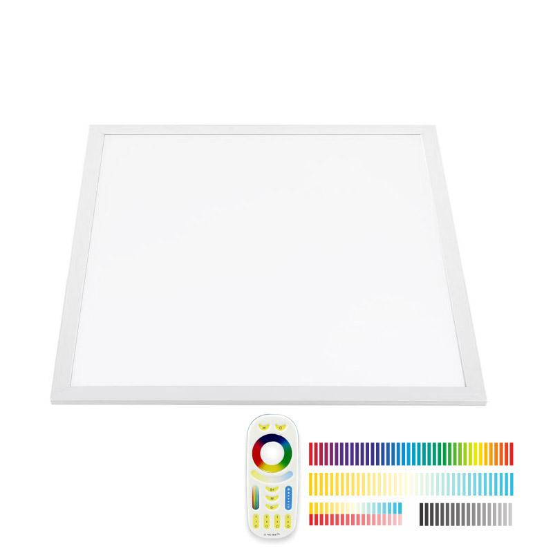Ledbox Painel LED 48w RGB + Branco Dual Rf 60x60cm RGB + Branco Dual