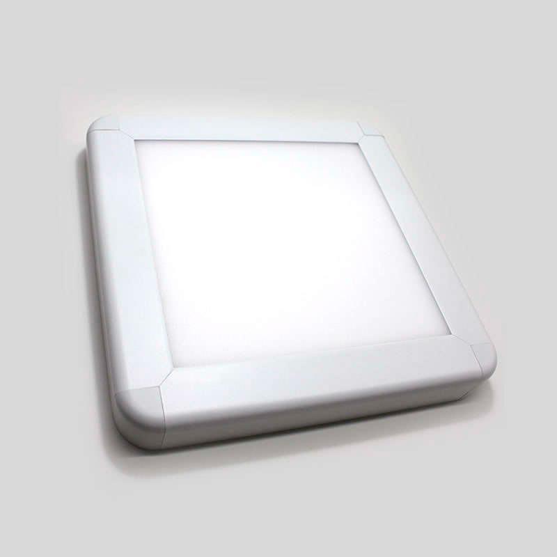 Panel led de superficie 20w 35x35cm ledbox for Paneles led de superficie