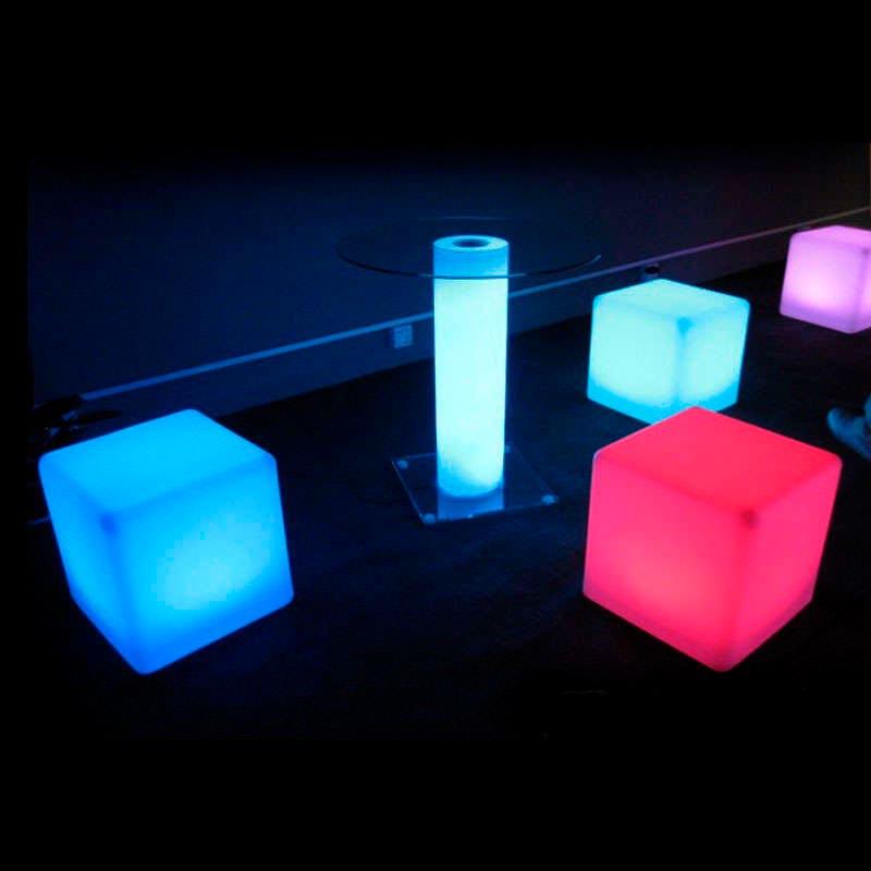 Cubo luminoso led LITEN KUB RGBW recargable