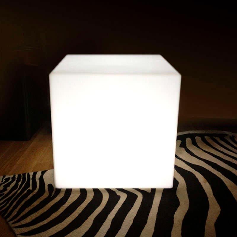 Cubo luminoso led BIG KUB RGB recargable