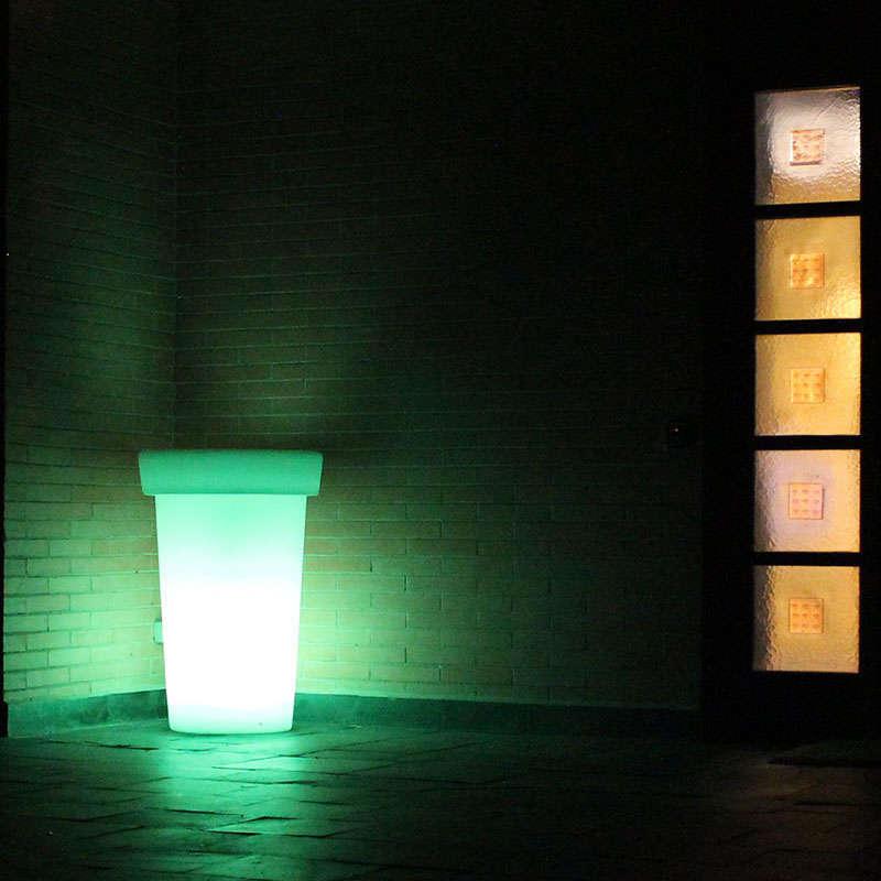 Led cube planter GIANT Led RGB