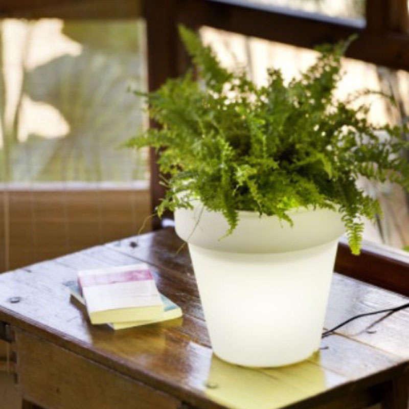 Pot fleurs lumineux KANT Led