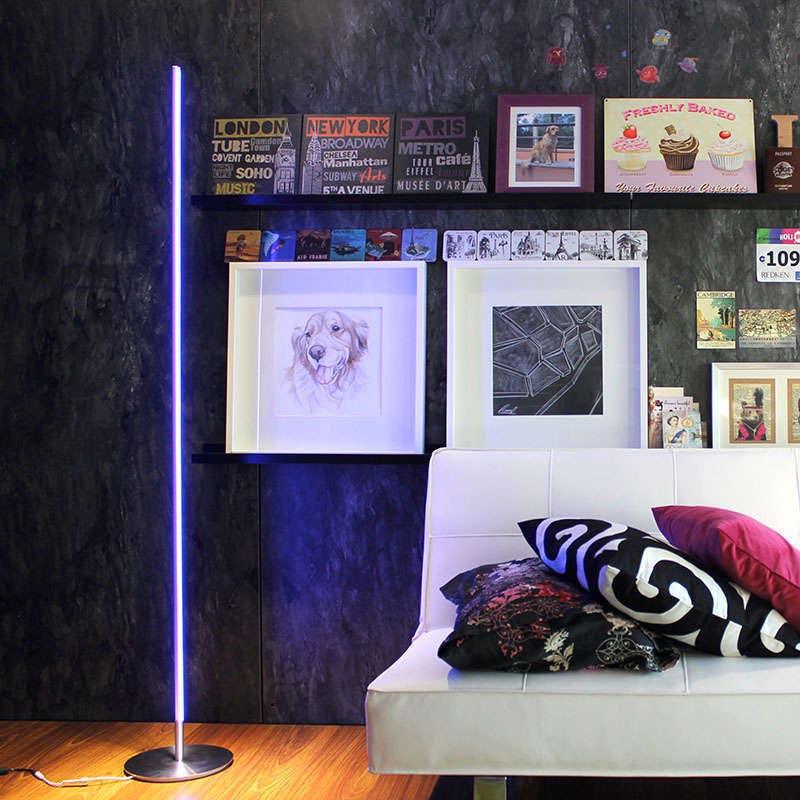 lámpara de pie led LUMO KVADRATA RGB, 20W