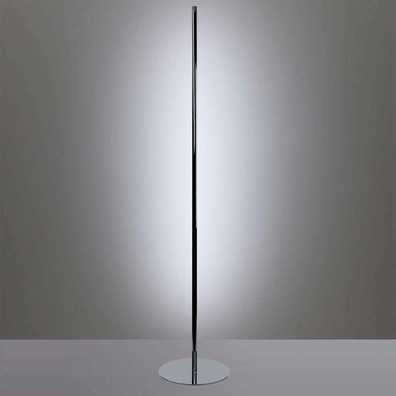 lámpara de pie led LUMO LIGNO KVADRATA RGB, 20W