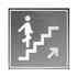 Signaled Subir Escaleras, 20x20, Blanco frío