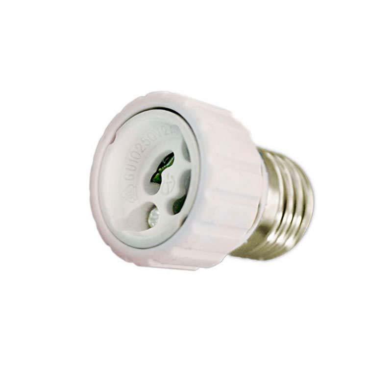 Adaptador / conversor para bombillas GU10 a E27