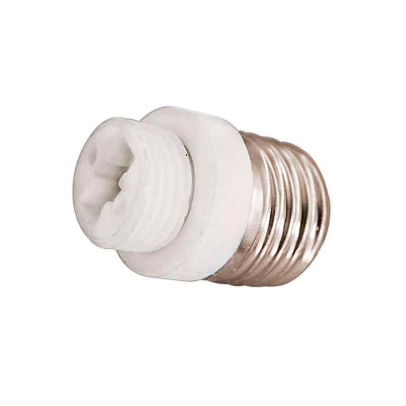 Adaptador / conversor para bombillas G9 a E27