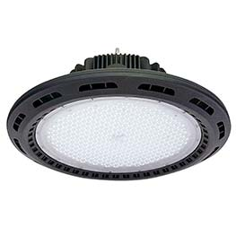 Campana Led industrial UFO 240W chip Philips + MeanWell driver 0-10V regulable