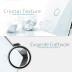 Frontal 3x cristal gris, 2 huecos + 1 botón