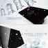 Frontal 2x vidro preto, 2 botões